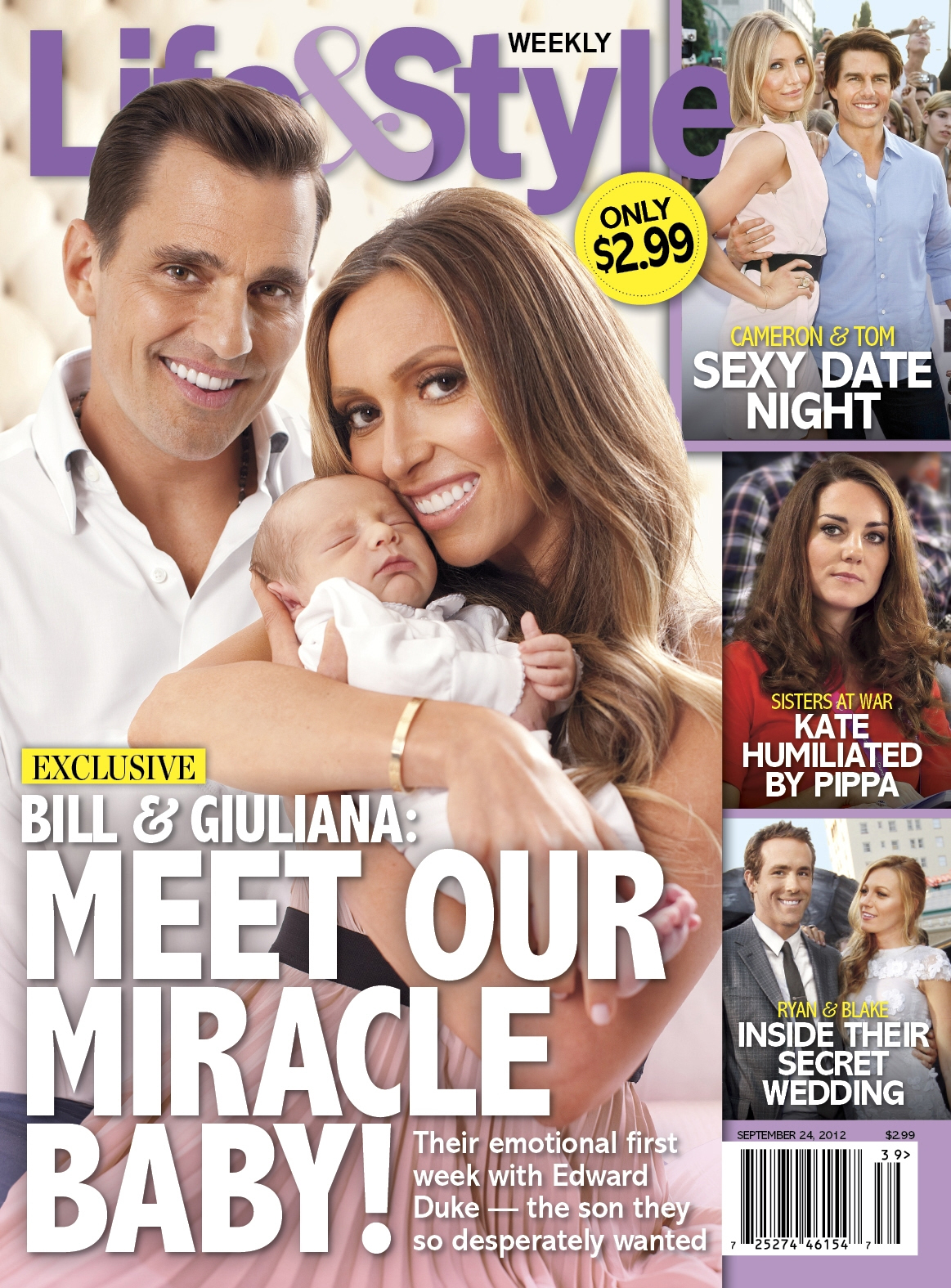 Giuliana, Bill & Baby Duke Rancic