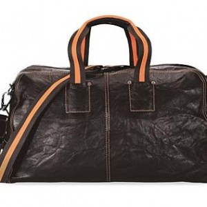 Goa Dufflebag in Distressed Leather
